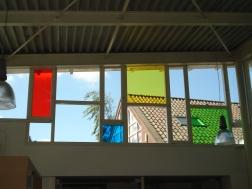 Juliana van Stolbergschool, kleurenmozaiek