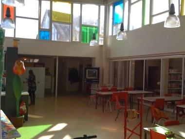 Juliana van Stolbergschool, kleuren mozaiek